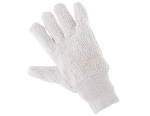 Terry towelling gloves