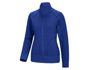 e.s. Sweat jacket poly cotton, ladies'