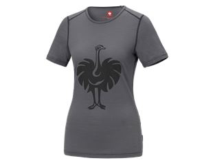 e.s. T-shirt Merino, ladies'