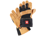 Grain leather gloves e.s.roughtough