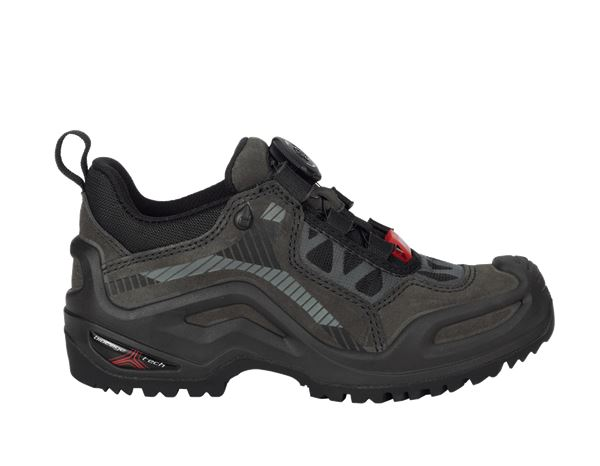 e.s. Allround shoes Miram low, children's graphite/black