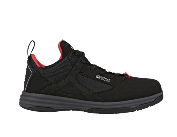e.s. S1 Safety shoes Polana low black