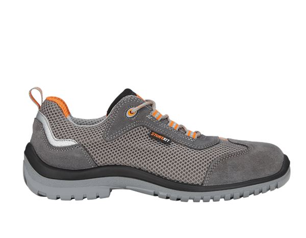 STONEKIT S1 Safety shoes Luca anthracite/orange