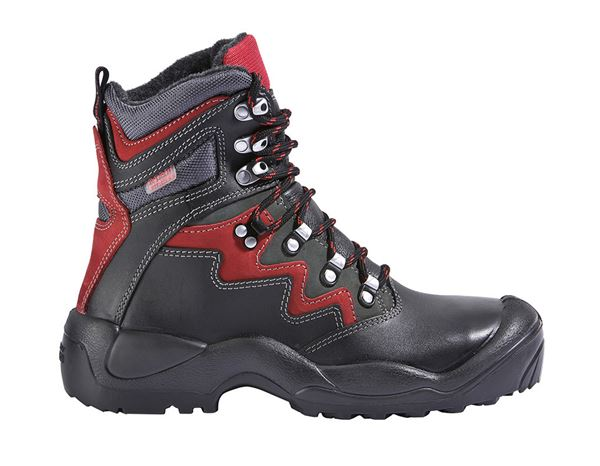 S3 Winter safety boots Lech black/anthracite/red