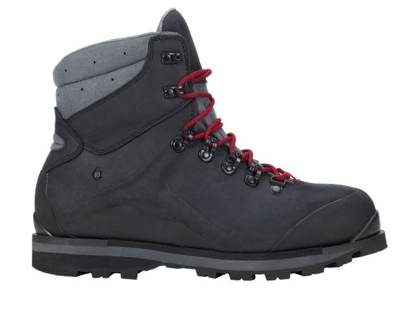 e.s. S3 Safety boots Alrakis mid black/titanium/ruby