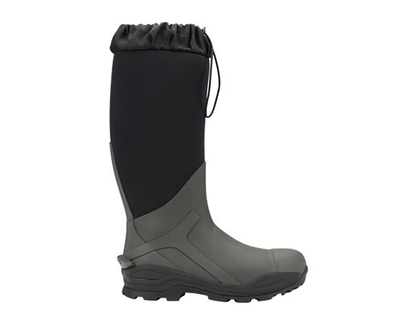 e.s. S5 Neoprene safety boots Kore x-high thyme/black