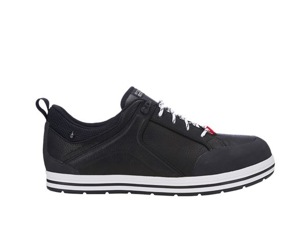e.s. S3 Safety shoes Spes low black