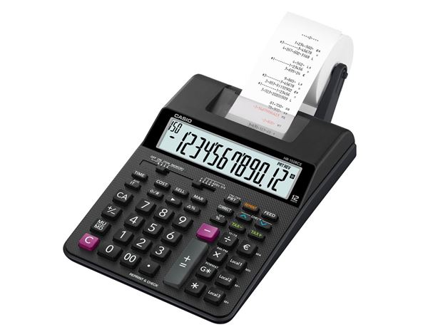 Casio calculator with print function HR-150RCE