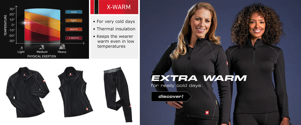 e.s.Functional-Troyer thermo stretch-x-warm,ladies