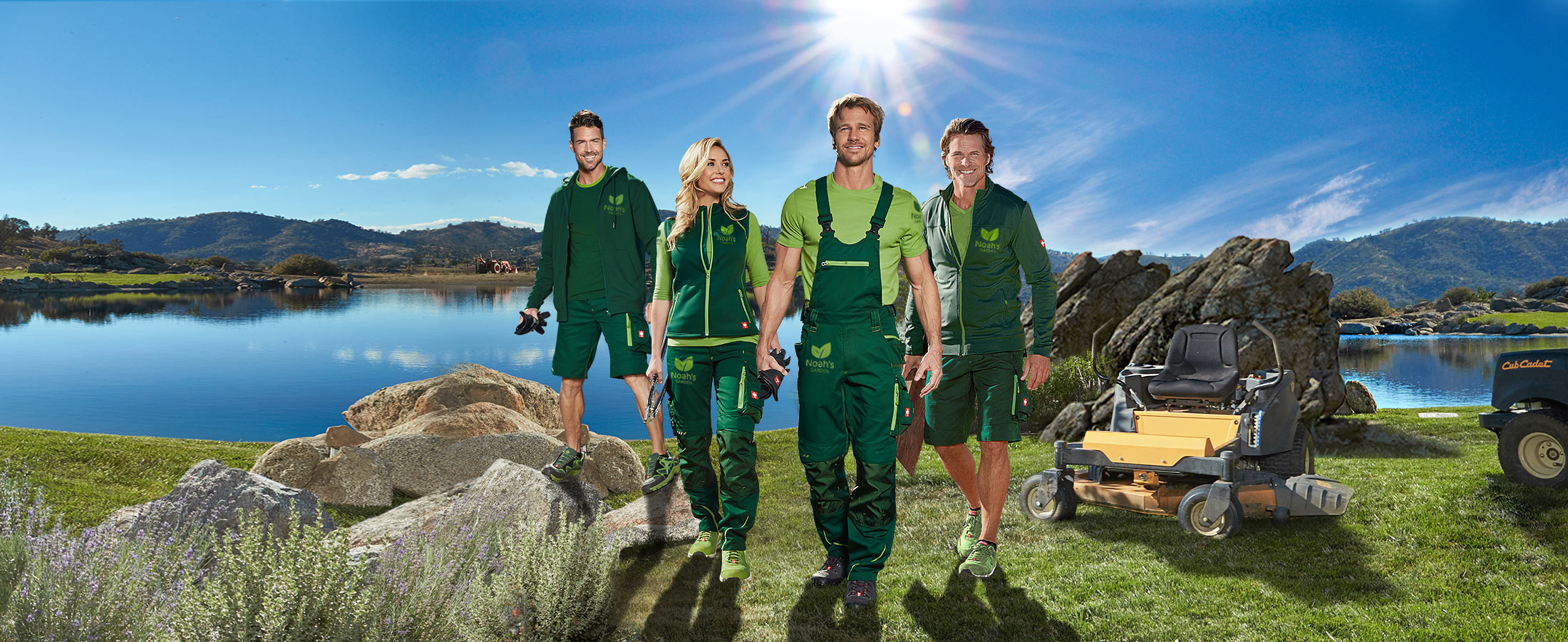 engelbert strauss workwear - the perfect team outfit with company logo