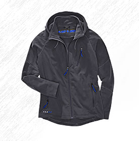 engelbert strauss Fleece work jackets - Hooded fleece jacket e.s. motion 2020