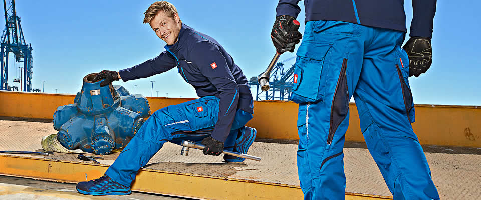 Work clothes work trousers e.s.motion 2020