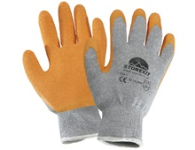 Latex knitted gloves Eco Grip
