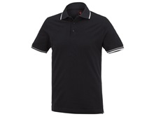 e.s. Polo shirt cotton Deluxe Colour