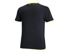 e.s. T-shirt cotton stretch Layer