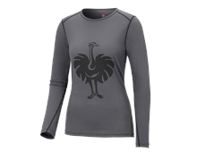 e.s. Long sleeve Merino, ladies'