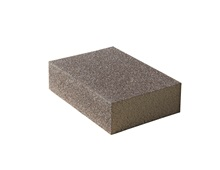 Flexible abrasive sponge
