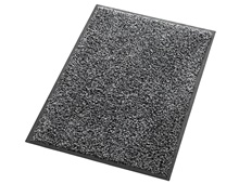 Comfort mat with rubber edge