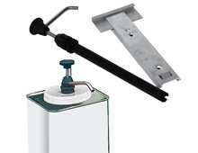 Dreumex dispenser with wall bracket