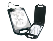 Clipboard with Led Light and Storage Compartment