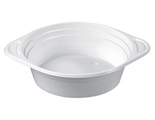 Soup bowls, round