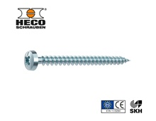 HECO-FIX-plus® univ.screw semicircul.head PZ VG zn