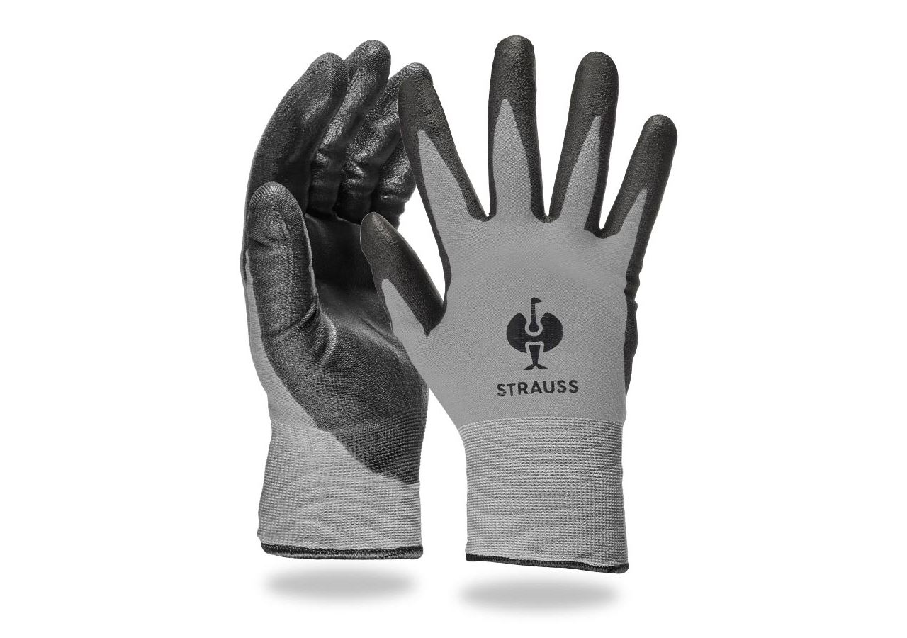 Coated: PU winter gloves Comfort