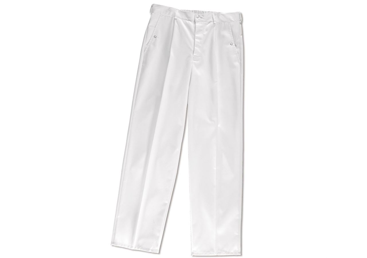 Work Trousers: HACCP Work Trousers + white