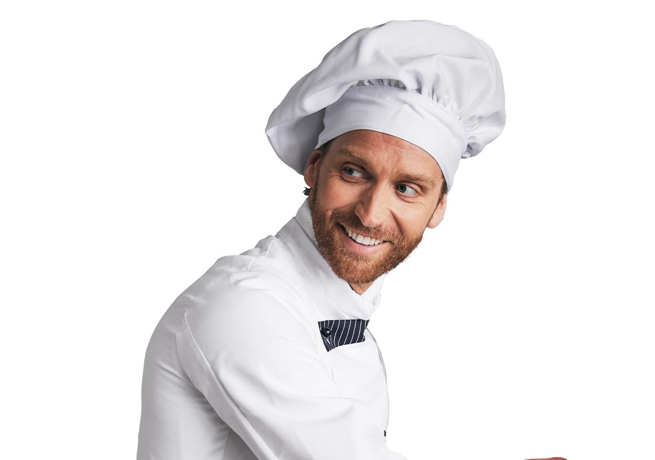 Accessories: French Chefs Hats + white