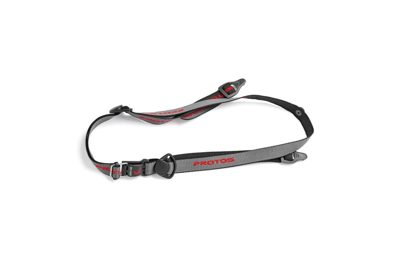 Accessories: e.s. Maclip chin strap Protos® + black