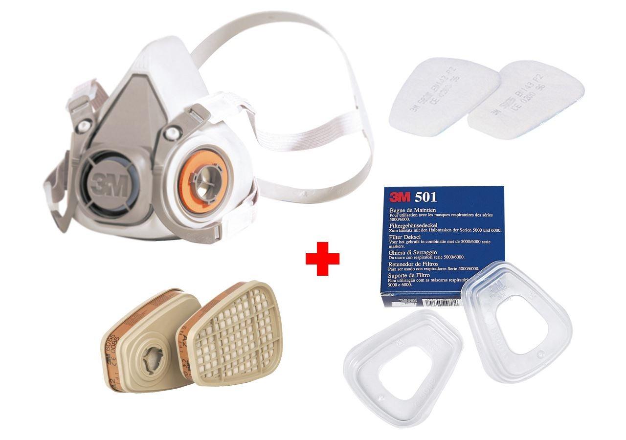 Respirators: 3M Mask Set 6200