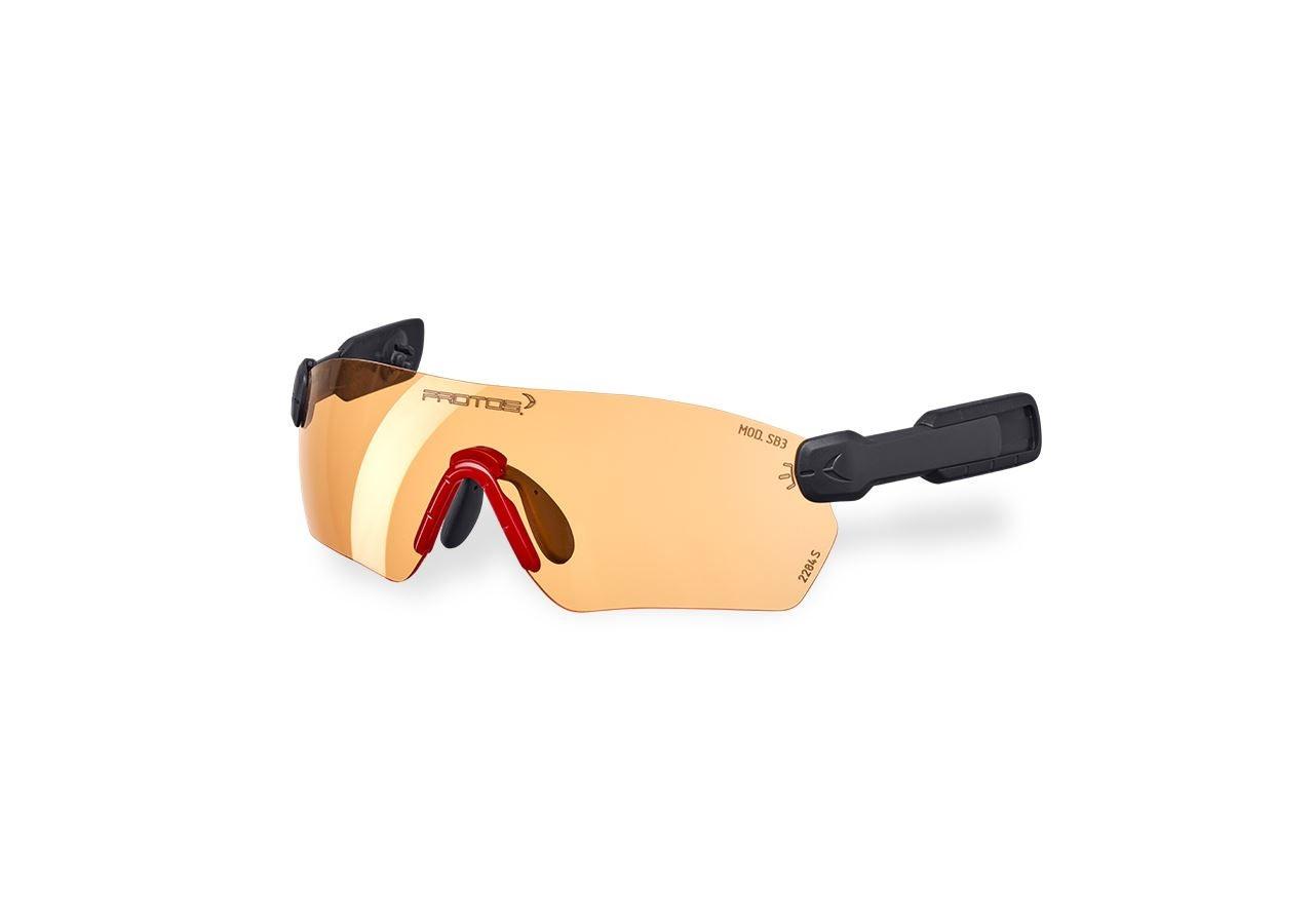 Accessories: e.s. Safety glasses  Protos® Integral + orange