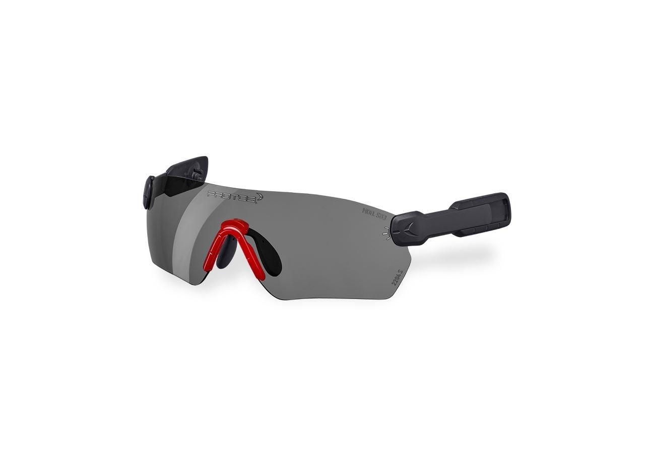 Accessories: e.s. Safety glasses  Protos® Integral + grey mirrored