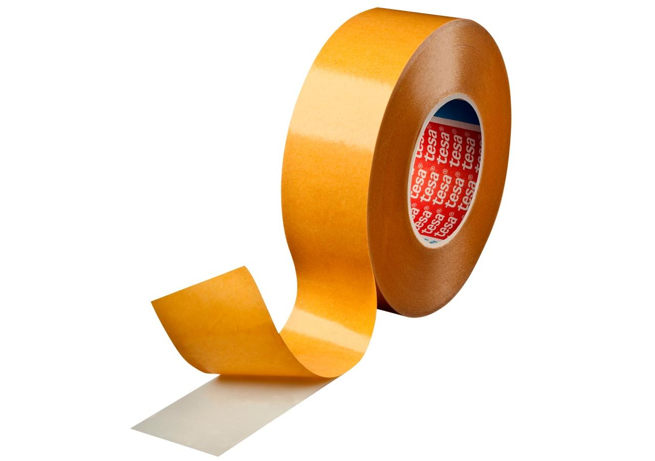 Plastic bands | crepe bands: tesa double-sided adhesive tape 4934