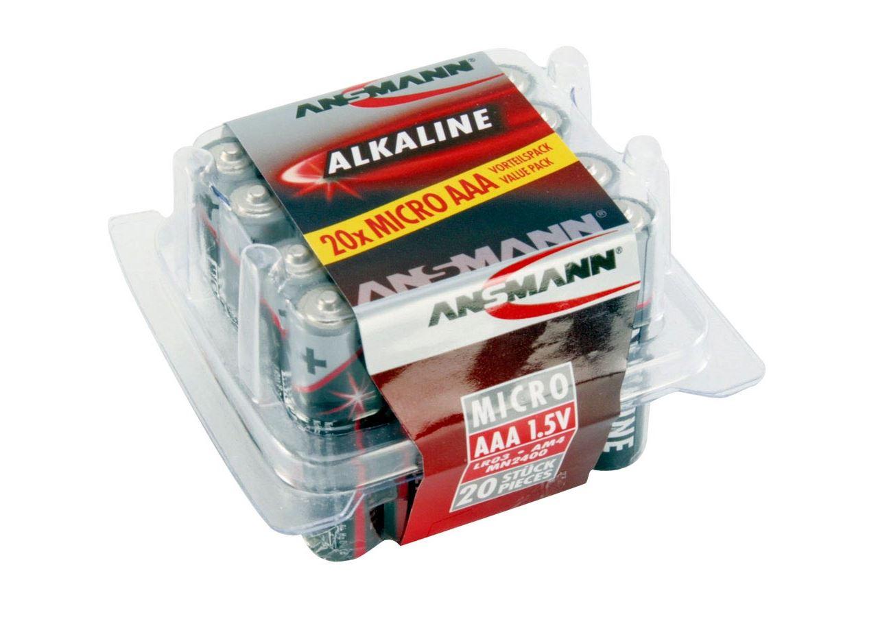 Electronics: Ansmann Batteries - economy pack, 20 Items