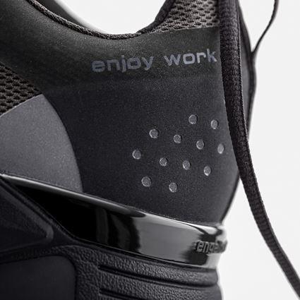 O1: O1 Work shoes e.s. Chete + black/anthracite 4