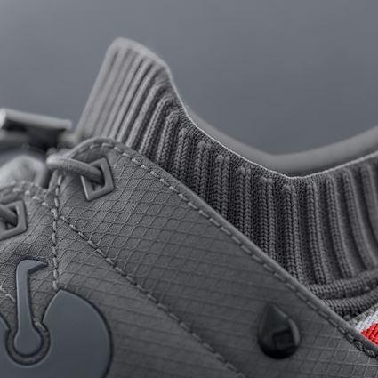 O2: O2 Work shoes e.s. Mikumi + basaltgrey/solarred 2