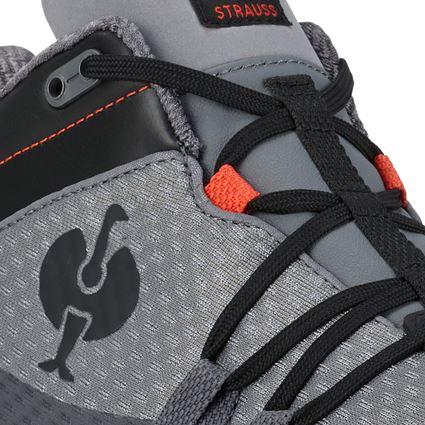 O2: O2 Work shoes e.s. Kobuk low + anthracite/solarred 2