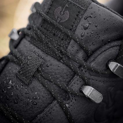 O2: O2 work shoes e.s. Ruma low + black 2
