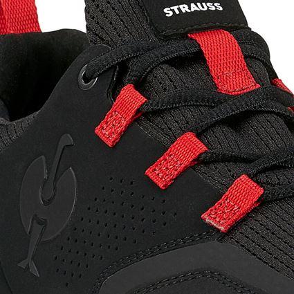 O1: O1 Work shoes e.s. Honnor II, men's + oxidblack/red 2