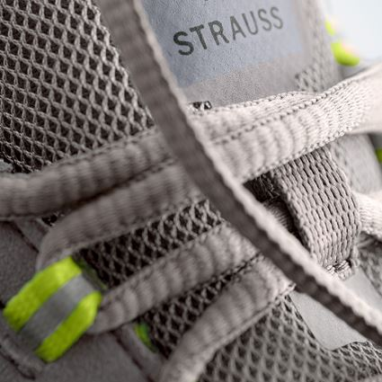 S1: S1 Safety shoes e.s. Zembra + pearlgrey/high-vis yellow 3
