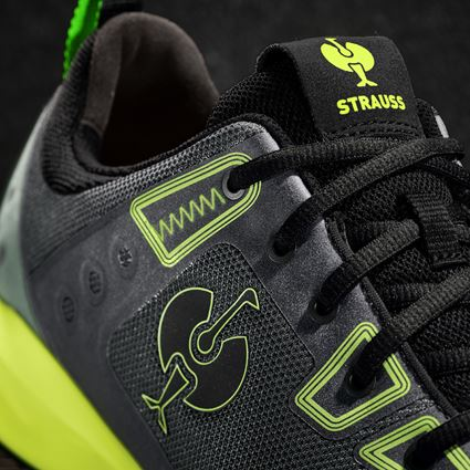 S1: S1 Safety shoes e.s. Hades II + black/high-vis yellow 2