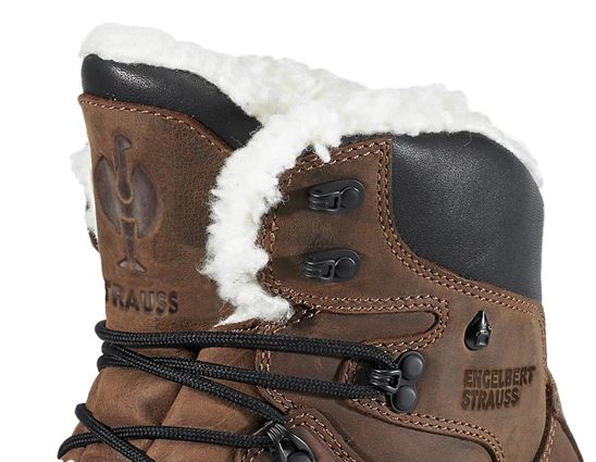 S3: e.s. S3 Safety boots Polaris mid + brown 2