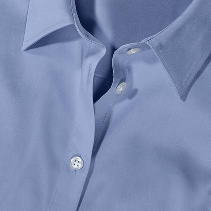 Shirts, Pullover & more: e.s. Business blouse cotton str. lad. regular fit + frostblue 2