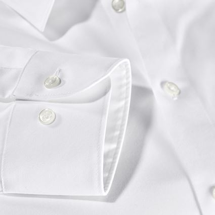 Shirts, Pullover & more: e.s. Business shirt cotton stretch, comfort fit + white 3