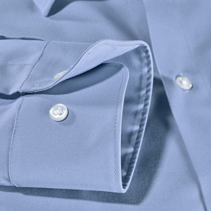 Shirts, Pullover & more: e.s. Business shirt cotton stretch, comfort fit + frostblue 4