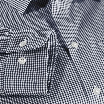 Shirts, Pullover & more: e.s. Business shirt cotton stretch, comfort fit + navy checked 4
