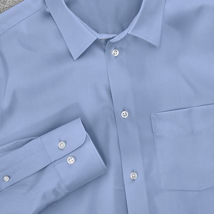 Shirts, Pullover & more: e.s. Business shirt cotton stretch, regular fit + frostblue 2