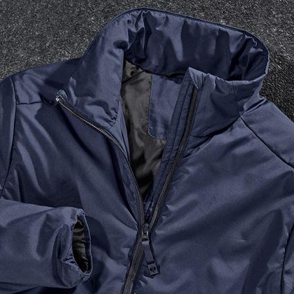 Work Jackets: e.s. Padded jacket CI + navy 2
