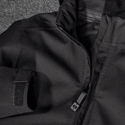 Jackets: e.s. Functional jacket CI, children's + black 2